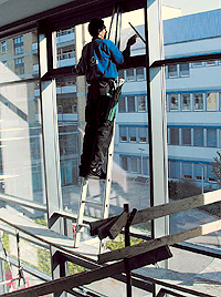 Picture of Window Cleaning Danger