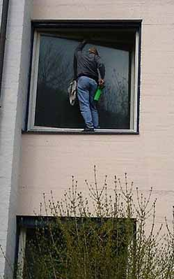 Window Cleaning on the Edge