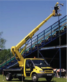 Truck mounted boom