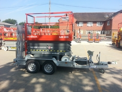 Bespoke Trailer for Scissor lifts etc